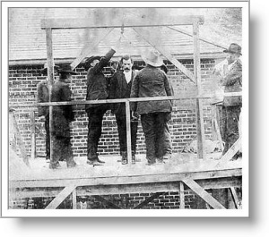 The hanging of Remus Reid