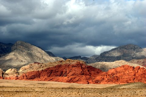 Storm clouds, Calico Basin area by Susie Hadland.