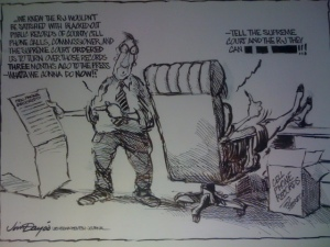 Jim Day cartoon about cell phone case