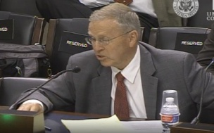 Grant Gerber testifies before Congress.