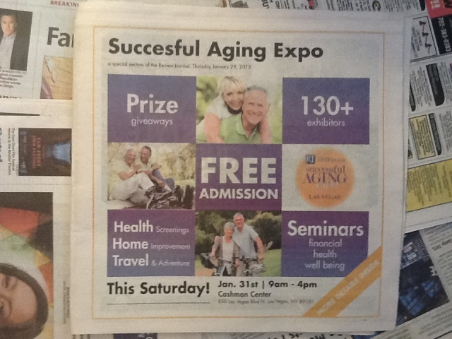 Promotional section in today's newspaper